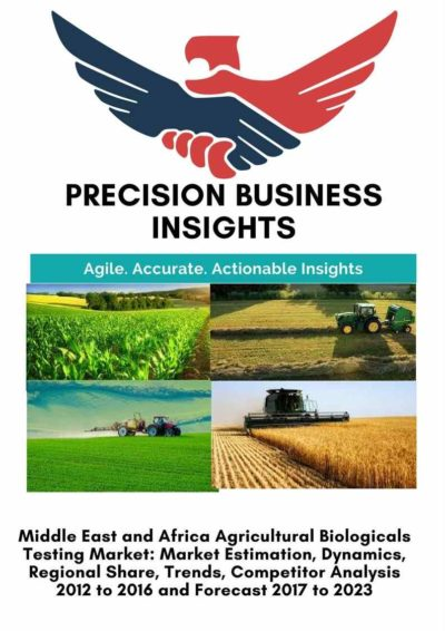 Middle East and Africa Agricultural Biologicals Testing Market