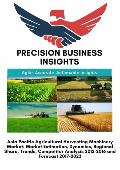 Asia Pacific Agricultural Harvesting Machinery Market