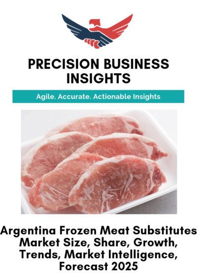 Argentina Frozen Meat Substitutes Market