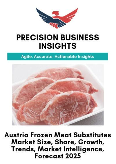 Austria Frozen Meat Substitutes Market