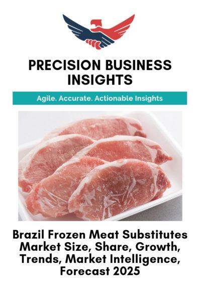 Brazil Frozen Meat Substitutes Market