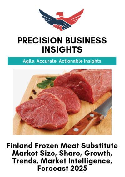 Finland Frozen Meat Substitute Market
