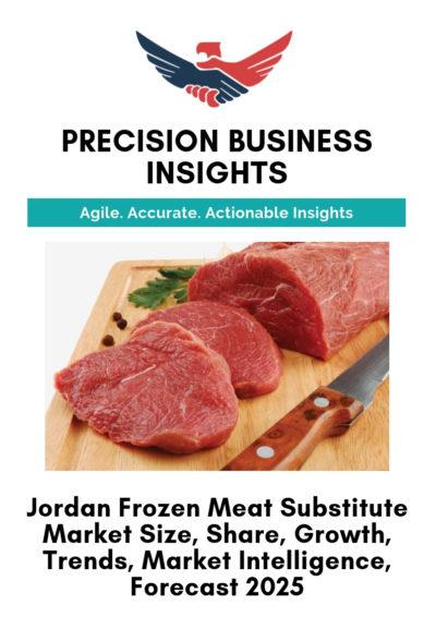 Jordan Frozen Meat Substitute Market