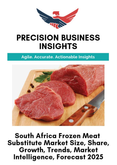 South Africa Frozen Meat Substitute Market
