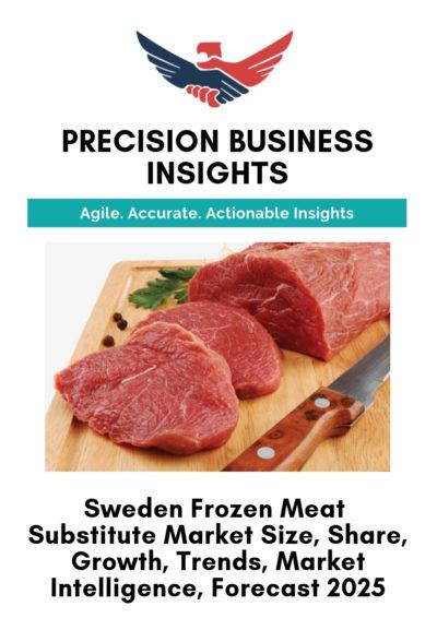 Sweden Frozen Meat Substitute Market